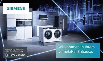 Siemens Kühlschrank Home Connect Einrichten : Siemens home connect küchen elektrogeräte ochtrup knöpper